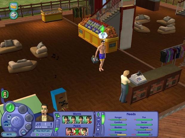 O jogo The Sims (Foto: Reprodução)