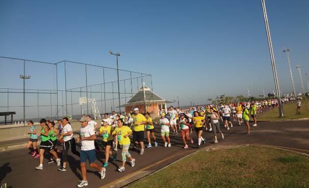 Evento reuniu 737 pessoas em Belém, de todas as idades.  (Foto: Dominik Giusti/TV Liberal)