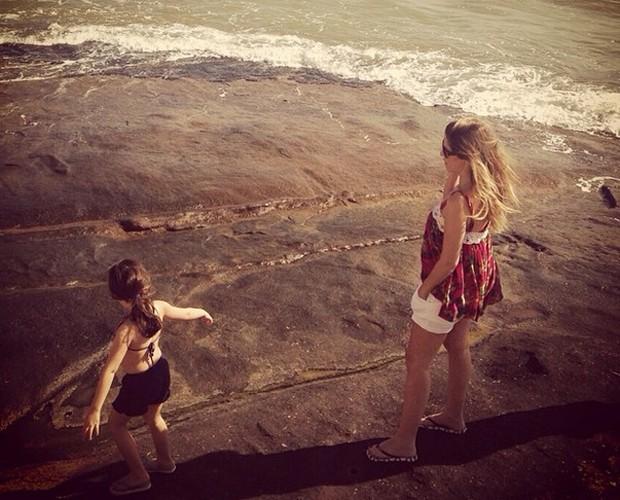 Ingrid Guimarães fala sobre a filha Clara (Foto: arquivo pessoal)