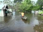 Amazonas pede ajuda do governo para famílias atingidas pela cheia