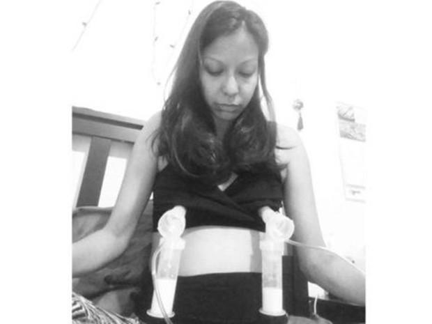 Wendy Cruz-Chan encontrou seis mães que precisavam de leite através das redes sociais (Foto: Wendy Cruz-Chan/Divulgação)