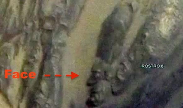 rosto egípcio (Foto: reprodução)