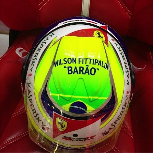 Homenagem de Felipe Massa a 'Barão' Wilson Fittipaldi (Foto: Reprodução / Instagram)