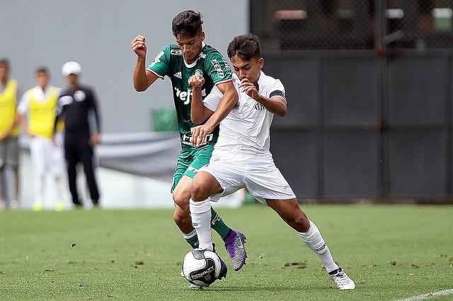 Santos e Palmeiras - Campeonato Paulista Sub-15 (Foto: Pedro Ernesto Guerra Azevedo/Santos FC)