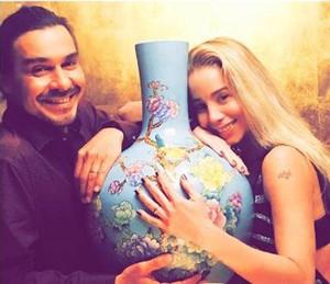 André e Dani no dia do pedido de casamento (Foto: Arquivo pessoal)