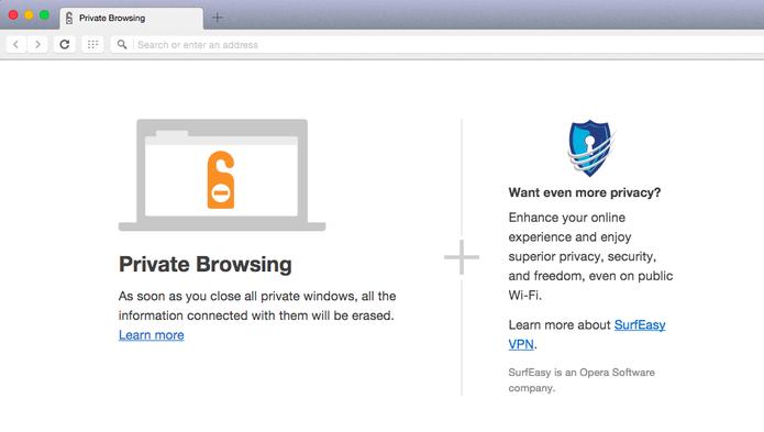 SurfEasy VPN no Opera 32 para Mac e Windows (Foto: Reprodução/Opera)