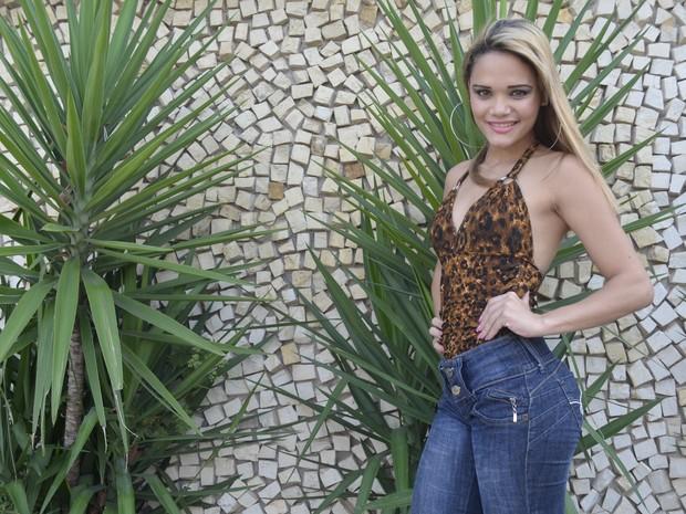 Amanda Picanço vai disputar Musa do Carnaval pela primeira vez (Foto: Abinoan Santiago/G1)
