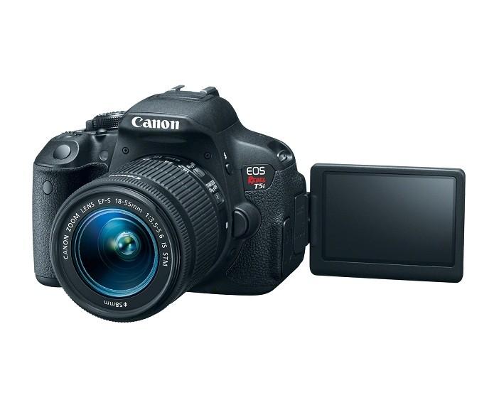 T5i é um dos modelos mais vendidos da Canon (Foto: Divulgação/Canon)