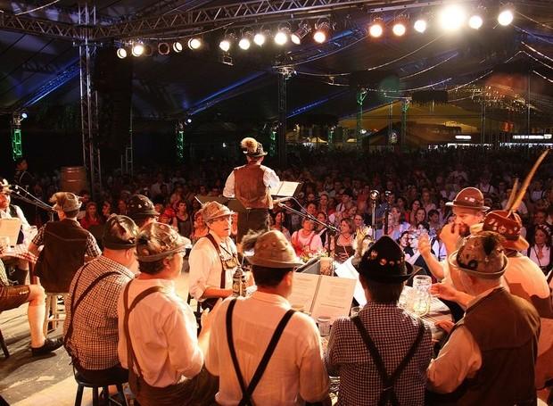 Oktoberfest em Blumenau ocorre entre os dias 7 e 25 (Foto: Marcelo Martins/Divulgação)