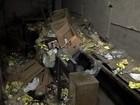 Escada rolante de estação do metrô quebrou por causa de acúmulo de lixo