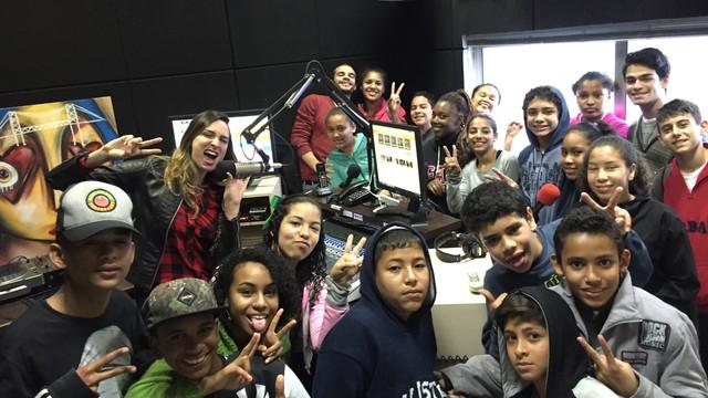 Estúdio da rádio Atlântida  (Foto: RBS TV/Divulgação)