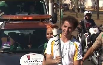 Andreoli responde críticas e fala sobre emoção de carregar tocha em Barretos