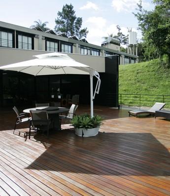 Hotel da Cidade do Galo possui hotel confortável para os jogadores argentinos (Foto: Reprodução / Flick do Atlético-MG)