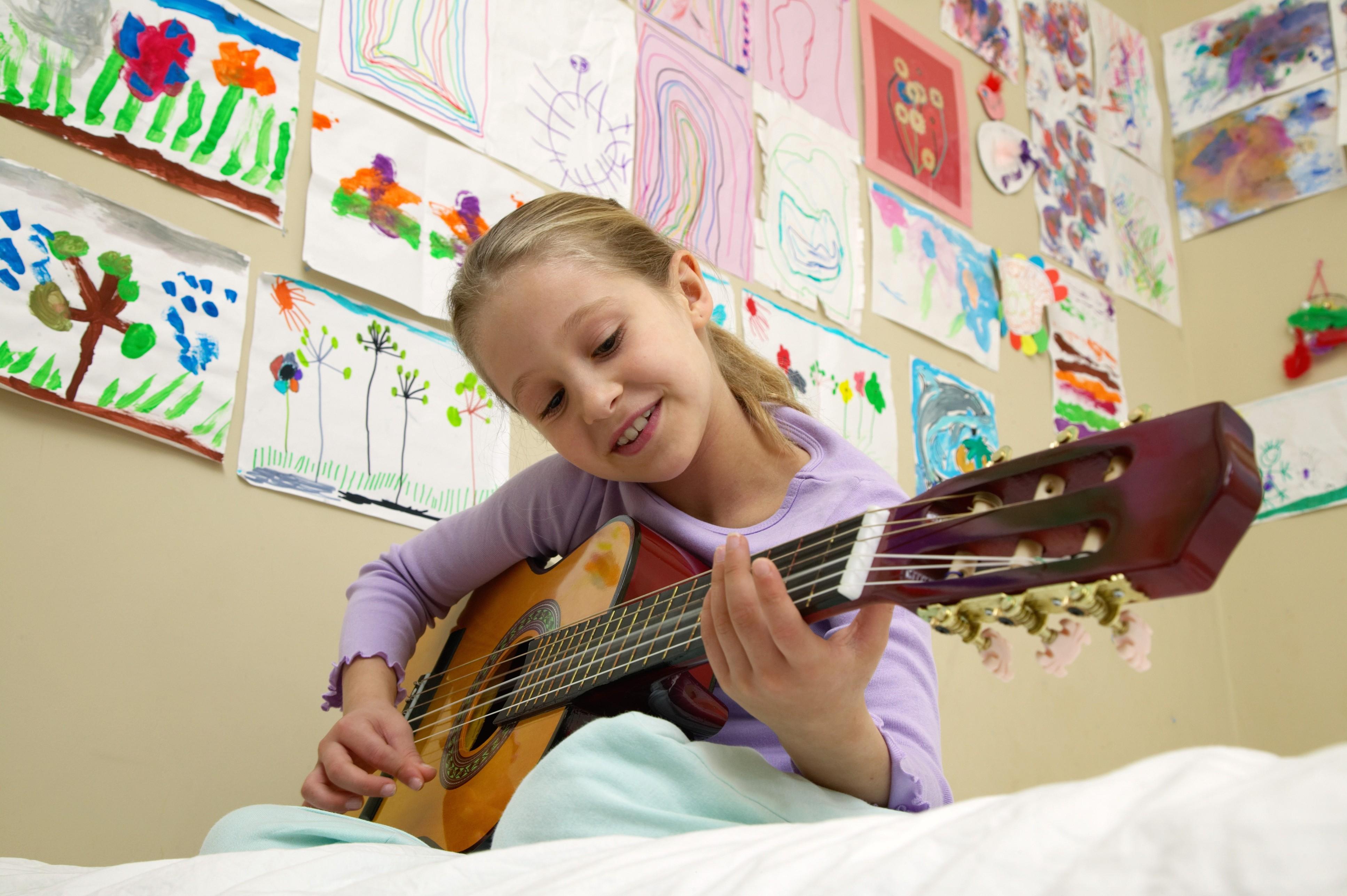 Criança música (Foto: ThinkStock)