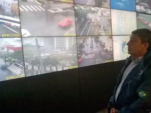 Sebastião Melo alertou sobre perigos durante a chuva (Foto: Ricardo Giusti/PMPA)