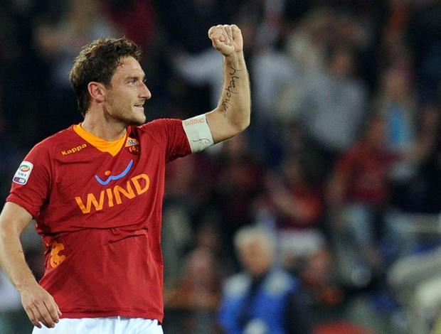 Totti gol Roma (Foto: EFE)
