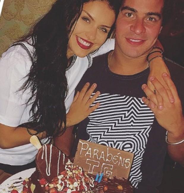 Paloma Bernardi e Thiago Martins (Foto: Reprodução/Instagram)