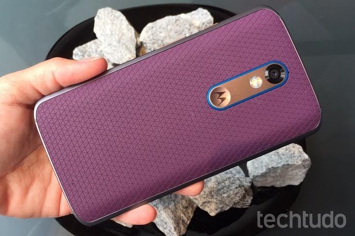 Sucessor do Moto X Force já deve vir com o a nova marca da Lenovo (Foto: Nicolly Vimercate/TechTudo)