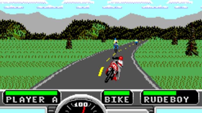 A versão Master System não se comparava com as outras, mas ainda era divertida (Foto: SMS Plus PSP)