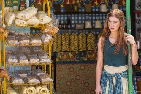 Marina Ruy Barbosa é Eliza em 'Totalmente demais' (Foto: TV Globo)