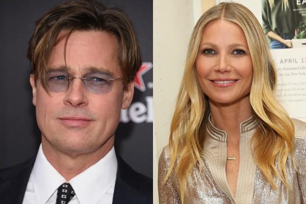 Gwyneth Paltrow e Brad Pitt (Foto: Getty Images)