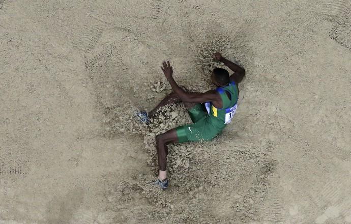 Duda Mauro Vinicius salto em distância mundial atletismo indoor (Foto: Reuters)