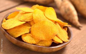 Chips de batata-baroa