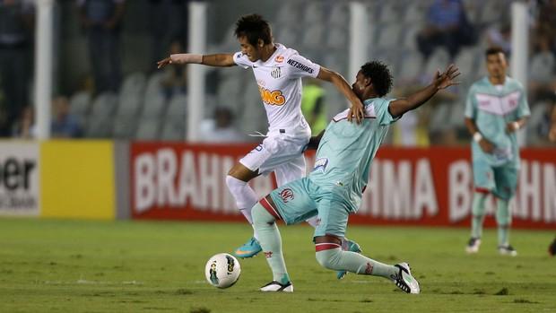 Neymar Elicarlos Santos x Náutico (Foto: Alex Silva / Ag. Estado)