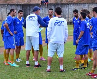 São José Esporte Clube treino (Foto: Danilo Sardinha/GloboEsporte.com)