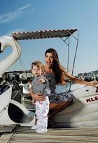 Joana Balaguer posa com o filho, Martin: 'Não tenho babá, amo ser mãe'