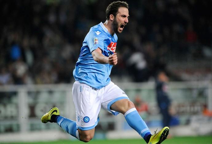 Higuain Napoli x Torino (Foto: Reuters)