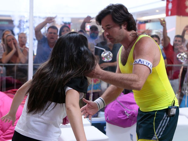Valdirene recusa o pedido de desculpas (Foto: Felipe Monteiro/ TV Globo)