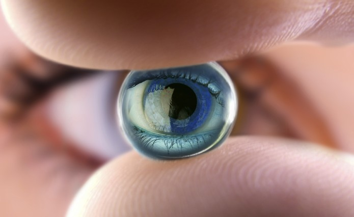 Lentes de contato (Foto: Focus Medical)