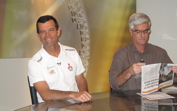 Torben Grael foi o convidado do 'Redação SporTV' (Foto: Gabriel Benamor / SPORTV.COM)