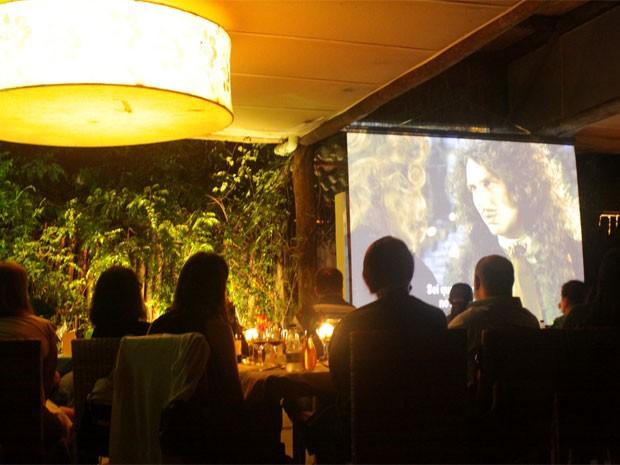 Projeto Cinema na Mesa une cinema e gastronomia em restaurante no distrito de Joaquim Egídio em Campinas (Foto: Ana Carolina Mora )