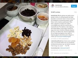 Marido de Ivete também é nutricionista da cantora e divulgou dieta (Foto: Reprodução/ Instagram)