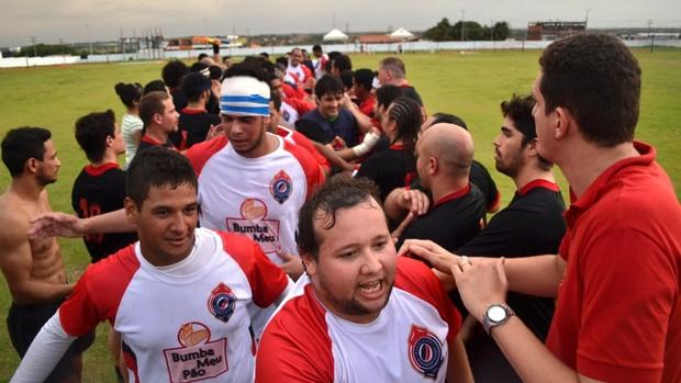 Time maranhense de rúgbi é um dos principais do Nordeste (Foto: Divulgação/Giovanni Spinucci)