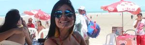 Praias do litoral piauiense ficam lotadas no Carnaval (Ellyo Texeira / G1)