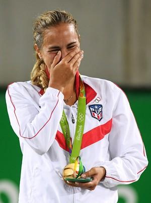 Monica Puig tênis olimpíada rio 2016 (Foto: REUTERS/Kevin Lamarque)