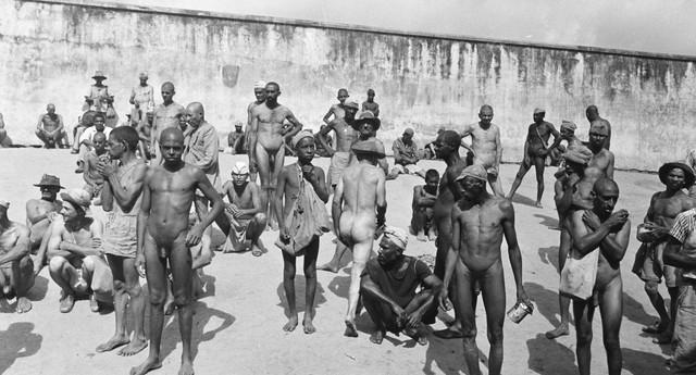 (NÃO PUBLICAR /EXCLUSIVO) Campo de concentração: uma das 300 cenas do holocausto brasileiro, registradas pela primeira vez pelo fotógrafo Luiz Alfredo, para salvar a história do esquecimento (Foto: Luiz Alfredo/FUNDAC)