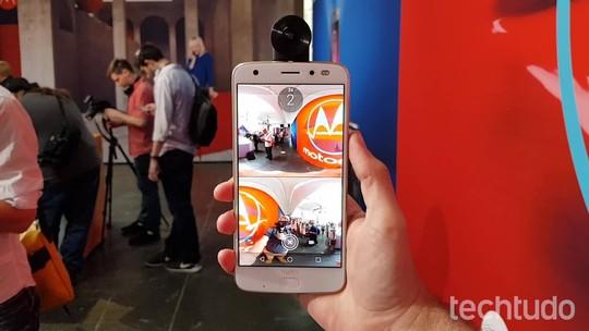 Moto Z2 Force tem câmera dupla e acessório para fotos em 360 graus
