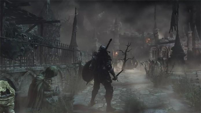 Ambientes mais sombrios e misteriosos também estão garantidos em Dark Souls 3 (Foto: Reprodução/OnlySP)