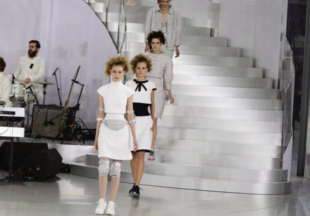 Chanel, alta-costura, verão 2014 (Foto: Getty Images)
