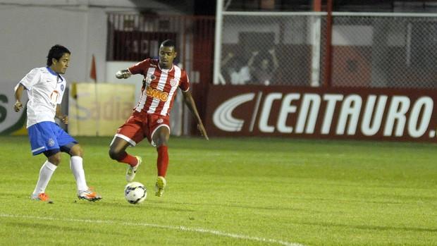 Villa Nova-MG x Bahia em jogo válido pela Copa do Brasil 2014  (Foto: Gualter Naves/VIPCOMM)