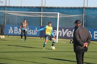 treino, Grêmio, Kannemann (Foto: Eduardo Moura / GloboEsporte.com)