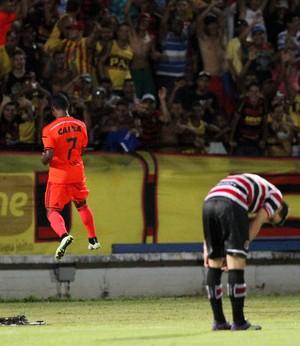 Élber Santa Cruz x Sport (Foto: Aldo Carneiro/Pernambuco Press)