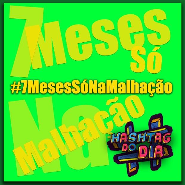 7 meses só na Malhação (Foto: Malhação / TV Globo)