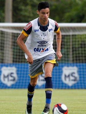 Diogo Barbosa; Cruzeiro (Foto: Washington Alves/Light Press)