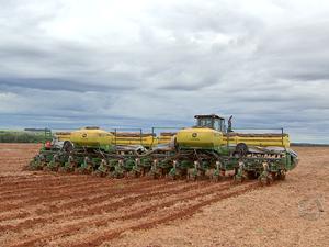 Plantio de soja avança em Mato Grosso (Foto: Reprodução/TVCA)