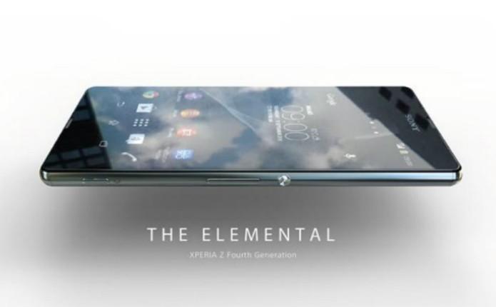 Suposto Sony Xperia Z4 que vazou tem display 2K de 5,2 polegadas (Foto: Reprodução)